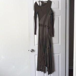 Stella MCcartney asymetrical long dress